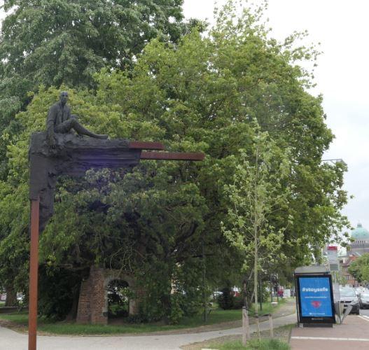 Tilleul argenté – Ganshoren, Square du Centenaire –  15 Mai 2020