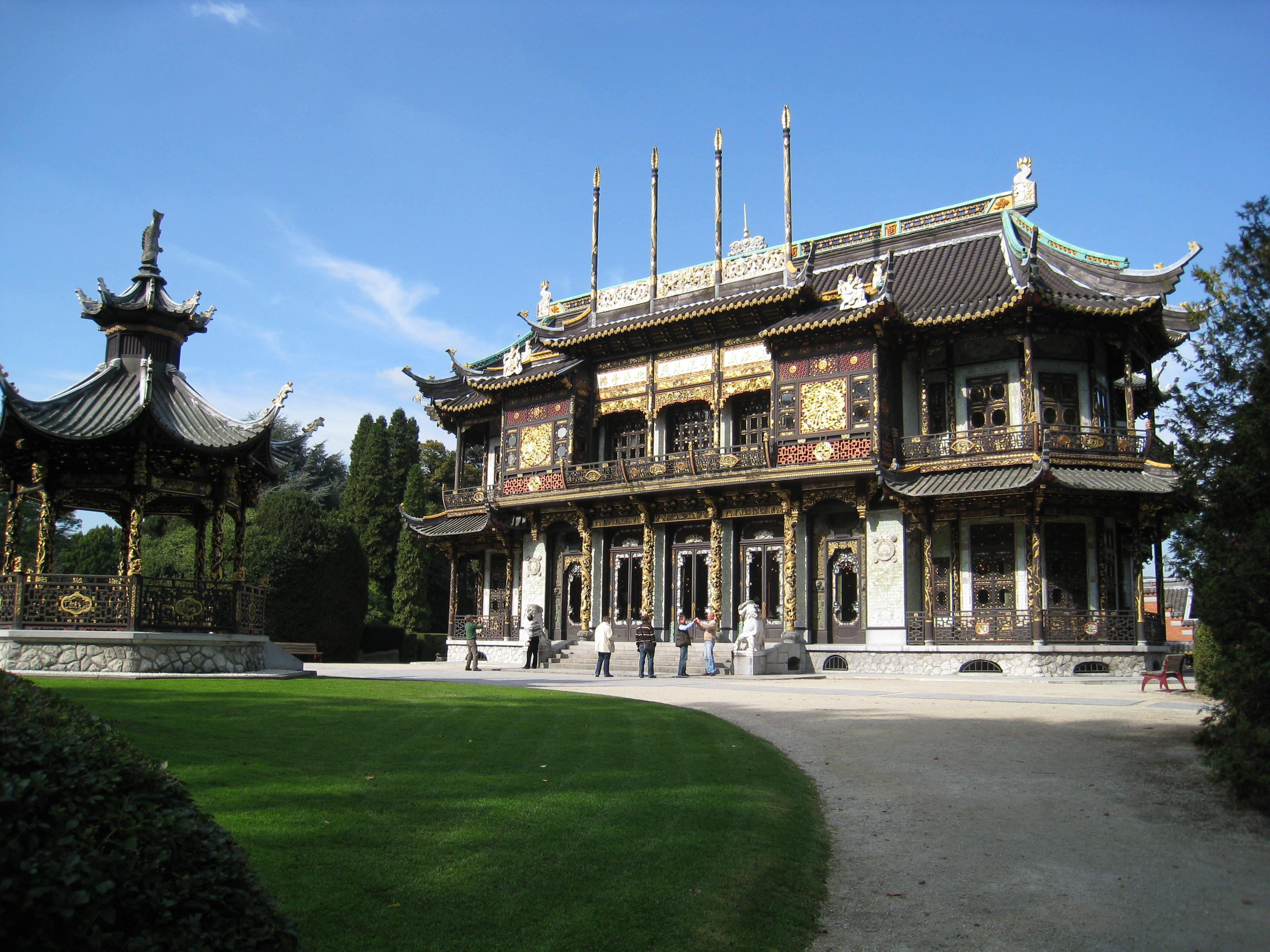 Jardin du pavillon chinois inventaire des arbres for Jardin de la vereda