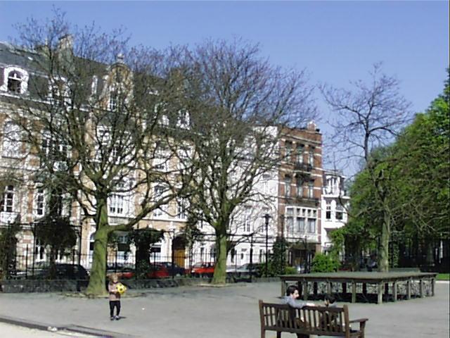 Ailante glanduleux – Schaerbeek, Place de Jamblinne de Meux, Place de Jamblinne de Meux, face 32 –  05 Avril 2002