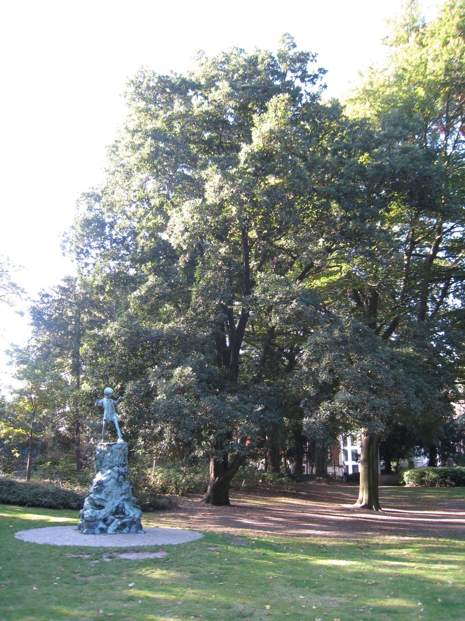 Chêne de Turner – Bruxelles, Parc d'Egmont –  15 Octobre 2009